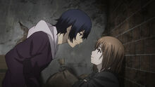 Ayato and Hinami first meet re anime