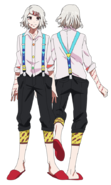 Juuzou anime design full view
