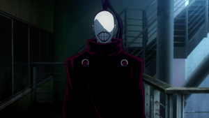 maschera bocca tokyo ghoul