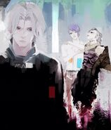 Yomo, Uta and Shuu in ED2-01