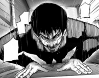 Amon doing pushups
