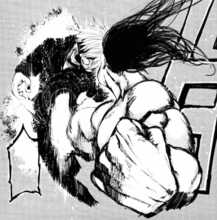 Shachi colpisce Kaneki