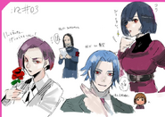 Post Re Episode 3 Illustration by Ishida Sui (17 april 2018)