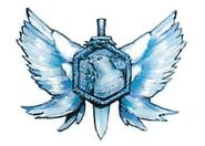 White wing medal dragon wing