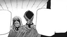 Mutsuki e Urie investigano