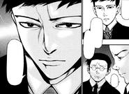 Amon discusses Fueguchi case with Kusaba and Nakajima