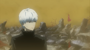 Eto follows Kaneki