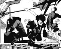Juuzou and his squad