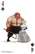 Madam a and taro card