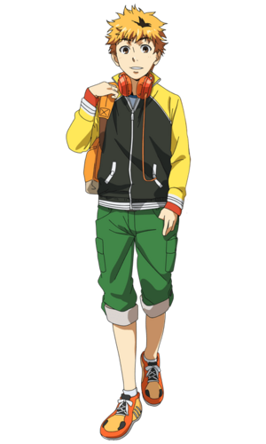 Nagachika anime design front view
