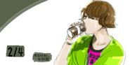 Nishiki Nishio Birthday Illustration 2013