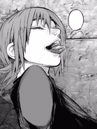 Hajime sending signals to his allies