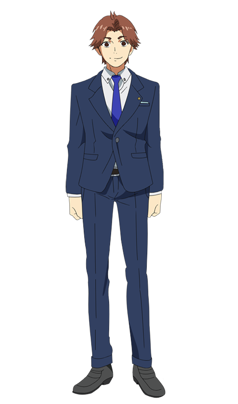 Seidou Takizawa anime design front view