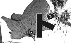 Eto destroying Matsuri's helicopter
