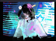 Ishida's illustration of Ano