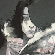 Illustration of Shuntarō Yanagi as Renji Yomo