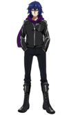 Ayato anime design front view