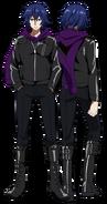 Ayato anime design full view