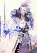 Ishidas Illustration von Kuja aus Final Fantasy IX