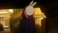 Touka as Rabbit