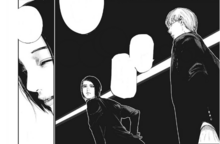 Arima parla a Furuta di V e Kaneki