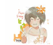 Hinami Fueguchi Birthday Illustration 2014