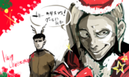 Ishida's 2011 Christmas illustration
