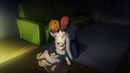 Nishiki biting Kimi