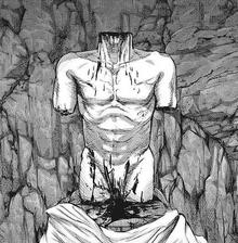 Corpo mutilato di torso