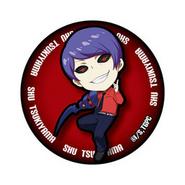 Tsukiyama's can badge with kagune