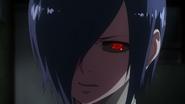 Touka coming to stop Nishiki