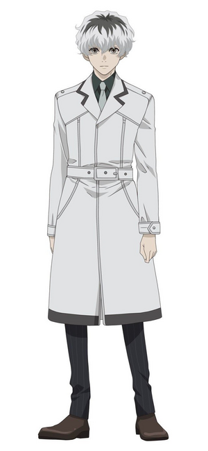 Haise Sasaki re anime design front view