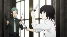 Suzuya trains Mutsuki re anime
