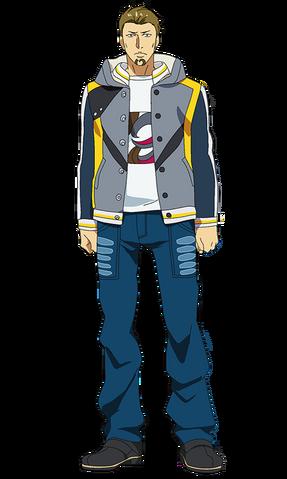 File:Banjou anime design front view.png