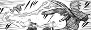 Yomo attacking Oggai with his kagune