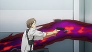 Noro using his Kagune to kill CCG personnel