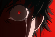 Kaneki's crying red eye