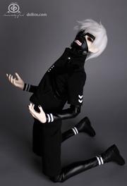 Kaneki prototype Dolk figure masked