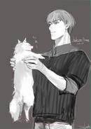 Koutarou Amon Birthday Illustration 2016