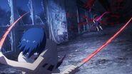 Arima strikes Minami with Yukimura