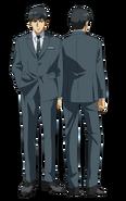 Amon anime design full view