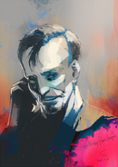 Ishida's illustration for Robert Knepper's birthday
