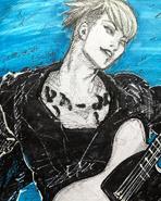 MIYAVI Illustration by Ishida Sui (2018)