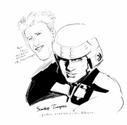 Ishidas Illustration für Starship Troopers