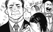 Iwao, Mougan and Misato at Takeomi wedding