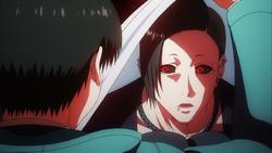 Uta surprising Kaneki