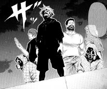Gruppo di Kaneki capitolo 90