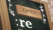 Re logo anime