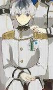 Sasaki in uniforme a colori