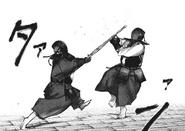 Kurona and Nashiro kendo training